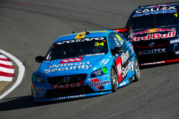 2015 V8 Supercars Round 3. Perth Super Sprint, Barbagallo Raceway, Western Australia, Australia. Friday 1st May - Sunday 3rd May 2015. David Wall drives the #34 Wilson Security Racing GRM Volvo  World Copyright: Daniel Kalisz/LAT Photographic Ref: Digital Image V8SC15_PERTHR3_DKIMG0201.JPG