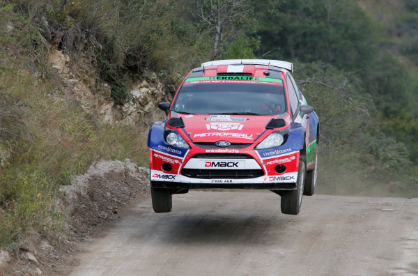 2014 World Rally Championship Rally Argentina 8th - 11th May 2014 Nicolas Fuchs, Ford, action Worldwide Copyright: McKlein/LAT