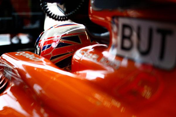 Monte Carlo, Monaco. Saturday 27 May 2017. Jenson Button, McLaren MCL32 Honda. World Copyright: Andy Hone/LAT Images ref: Digital Image _ONY9158