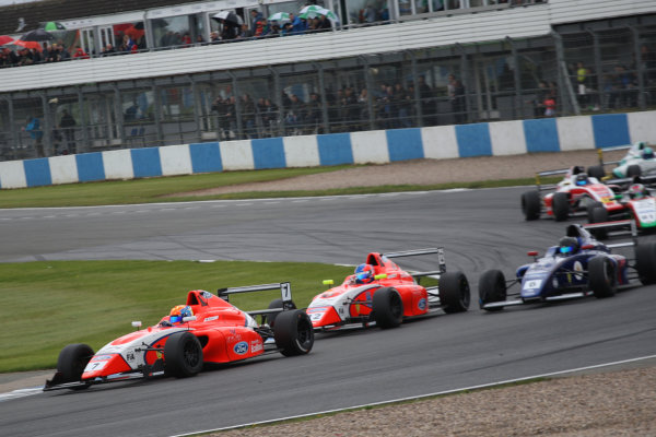 2017 British Formula 4 Championship, Donington Park, April 15th-16th 2017, Alex Quinn (GBR) TRS Arden British  World Copyright. JEP/LAT Images