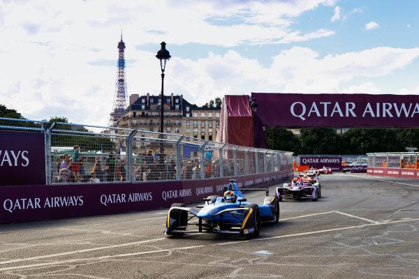 2016/2017 FIA Formula E Championship. Qatar Airways Paris ePrix, France. Saturday 20 May 2017. Sebastien Buemi (SUI), Renault e.Dams, Spark-Renault, Renault Z.E 16. Photo: Steven Tee/LAT/FIA Formula E ref: Digital Image _R3I4506