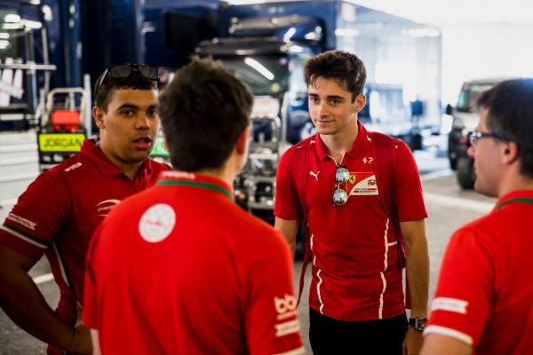 2017 FIA Formula 2 Round 3. Monte Carlo, Monaco. Wednesday 24 May 2017. Charles Leclerc (MCO, PREMA Racing)  Photo: Zak Mauger/FIA Formula 2. ref: Digital Image _54I4650