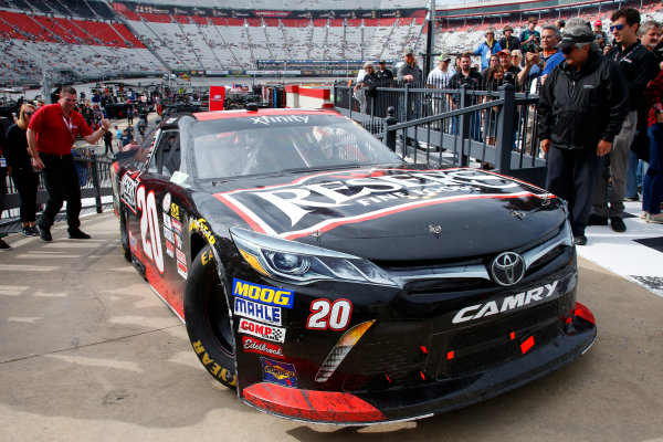 NASCAR Xfinity Series Fitzgerald Glider Kits 300 Bristol Motor Speedway, Bristol, TN USA Saturday 22 April 2017 Erik Jones, Reser's American Classic Toyota Camry World Copyright: Lesley Ann Miller LAT Images ref: Digital Image lam_170422BMS34829