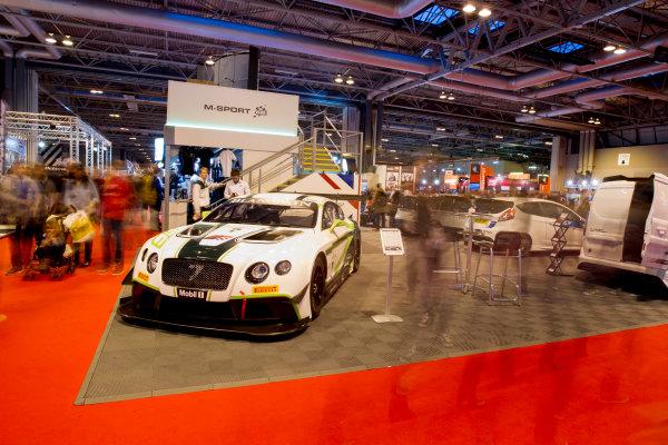 Autosport International Exhibition.  National Exhibition Centre, Birmingham, UK. Sunday 17 January 2016.  Fans at the M-Sport stand. World Copyright: Mike Hoyer/LAT Photographic. ref: Digital Image EL0G9193