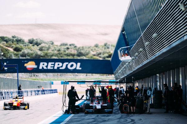 2016 GP2 Series Testing. Jerez, Spain. Thursday 31 March 2016 Nobuharu Matsushita (JPN) ART Grand Prix  World Copyright: Malcolm Griffiths/LAT Photographic. ref: Digital Image _G7C9506