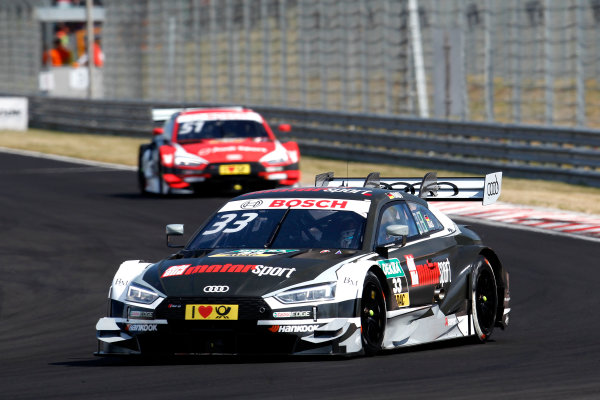 2017 DTM Round 3 Hungaroring, Budapest, Hungary. Sunday 18 June 2017. René Rast, Audi Sport Team Rosberg, Audi RS 5 DTM World Copyright: Alexander Trienitz/LAT Images ref: Digital Image 2017-DTM-R3-HUN-AT1-2345