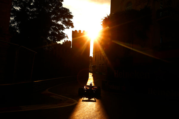 Baku City Circuit, Baku, Azerbaijan. Friday 23 June 2017. Max Verstappen, Red Bull Racing RB13 TAG Heuer. World Copyright: Andrew Hone/LAT Images ref: Digital Image _ONZ6582
