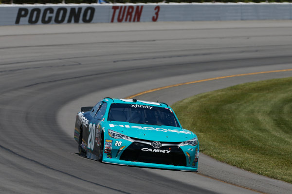 NASCAR XFINITY Series Pocono Green 250 Pocono Raceway, Long Pond, PA USA Friday 9 June 2017 Kyle Benjamin, Hisense Toyota Camry World Copyright: Matthew T. Thacker LAT Images ref: Digital Image 17POC1mt1174