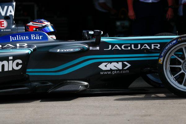 2017/2018 FIA Formula E Championship. Round 1 - Hong Kong, China. Saturday 02 December 2017. Mitch Evans (NZL), Panasonic Jaguar Racing, Jaguar I-Type II. Photo: Sam Bloxham/LAT/Formula E ref: Digital Image _W6I6192