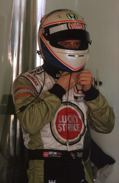 Anthony Davidson (GBR) BAR Test Driver.Formula One Testing, Barcelona, Spain, 27-31 January 2002.