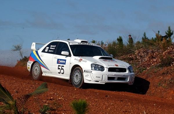 Martin Rowe (GBR) / Trevor Agnew (GBR) Subaru Impreza STi.