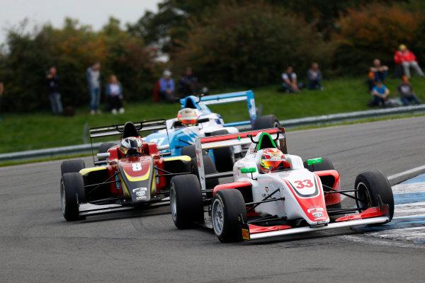 2017 BRDC British F3 Championship, Donington Park, Leicestershire. 23rd - 24th September 2017. Manuel Maldonado (VEN) Fortec Motorsports BRDC F3 World Copyright: JEP/LAT Images