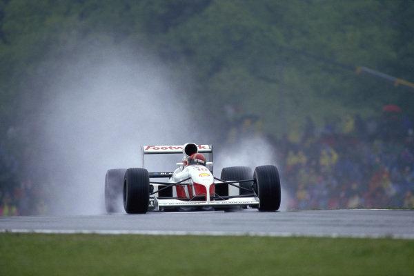 Alex Caffi, Footwork FA12 Porsche.
