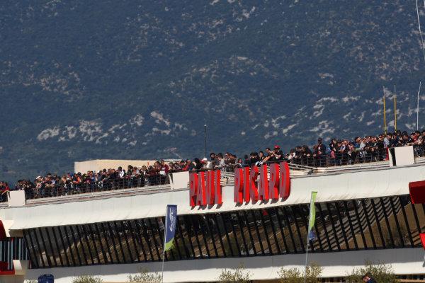2015 FIA World Endurance Championship, Prologue, Paul Ricard, France. 27th-28th March 2015, Fans at Paul Ricard World Copyright: Jakob Ebrey/LAT Photographic