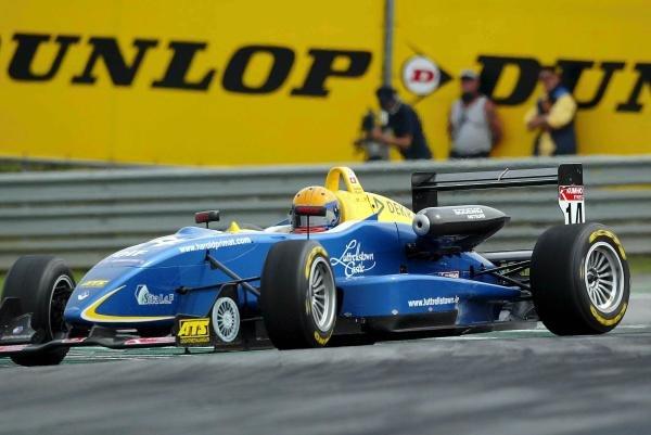 Harold Primat (SUI) Saulnier Racing Dallara Renault spins.F3 Euro Series, Rd13 & Rd14, A1-Ring, Austria, 6 September 2003.DIGITAL IMAGE