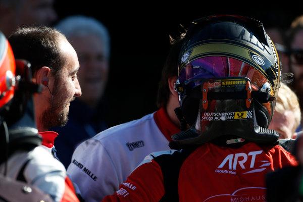 2015 GP3 Series Round 6. Autodromo di Monza, Italy. Sunday 6 September 2015. Marvin Kirchhofer (GER, ART Grand Prix)  World Copyright: Sam Bloxham/LAT Photographic. ref: Digital Image _SBL3718
