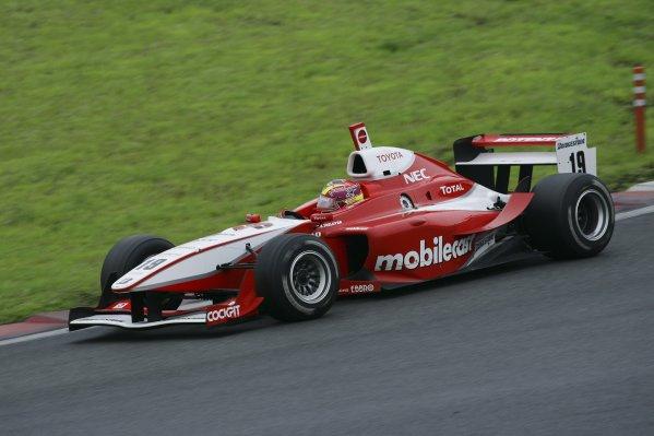 2006 Formula Nippon ChampionshipFuji, Japan. 26th - 27th August 2006Race winner Benoit Treluyer (mobilecast IMPUL), 1st position. Action.World Copyright: Yasushi Ishihara / LAT Photographicref: Digital Image 2006FN_R6_002