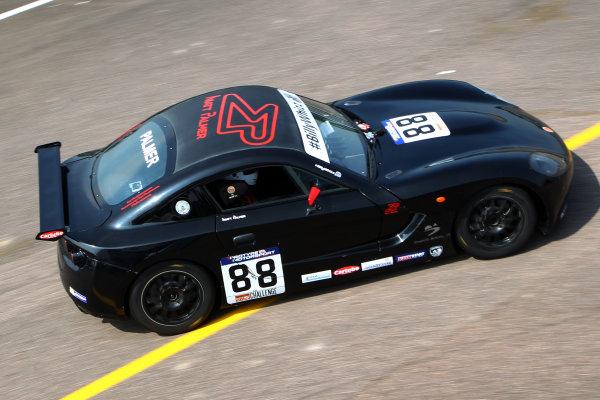 2017 Ginetta GT5 Championship Thruxton, 6th-7th May 2017,  Matt Palmer Ginetta G40 World copyright. JEP/LAT Images