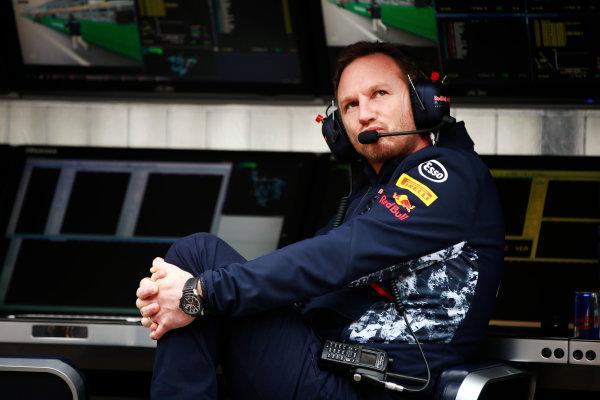 Shanghai International Circuit, Shanghai, China.  Friday 07 April 2017. Christian Horner, Team Principal, Red Bull Racing. World Copyright: Andy Hone/LAT Images ref: Digital Image _ONY4168