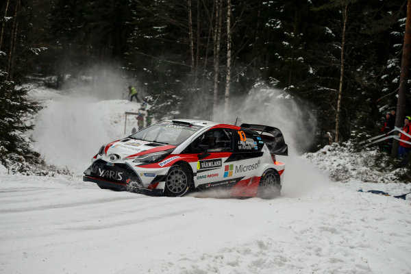2017 FIA World Rally Championship, Round 02, Rally Sweden, February 09-12, 2017, Jari-Matti Latvala, Toyota, Action Worldwide Copyright: McKlein/LAT