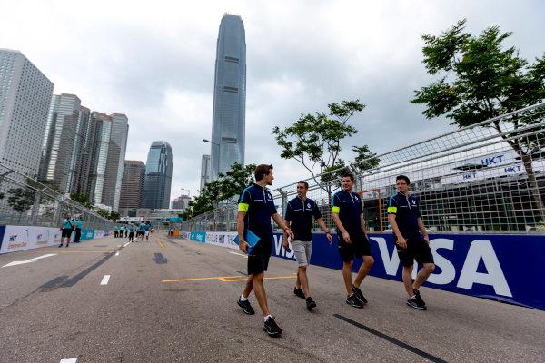 2016/2017 FIA Formula E Championship. Hong Kong ePrix, Hong Kong, China. Saturday 8 October 2016. Sebastien Buemi (SUI), Renault e.Dams, Spark-Renault, Renault Z.E 16.  Photo: Zak Mauger/LAT/Formula E ref: Digital Image _X0W1388
