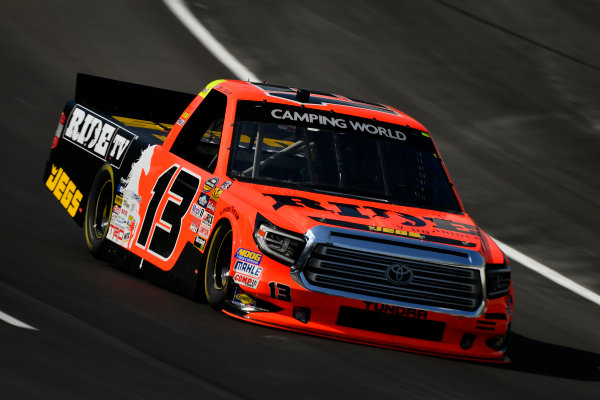 NASCAR Camping World Truck Series winstaronlinegaming.com 400 Texas Motor Speedway, Ft. Worth, TX USA Thursday 8 June 2017 Cody Coughlin, Ride TV/ Jegs Toyota Tundra World Copyright: Scott R LePage LAT Images ref: Digital Image lepage-170608-TMS-0112