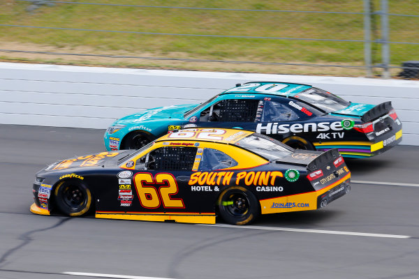 NASCAR XFINITY Series Pocono Green 250 Pocono Raceway, Long Pond, PA USA Saturday 10 June 2017 Brendan Gaughan, South Point Hotel & Casino Chevrolet Camaro and Kyle Benjamin, Hisense Toyota Camry World Copyright: Russell LaBounty LAT Images ref: Digital Image 17POC1rl_03626