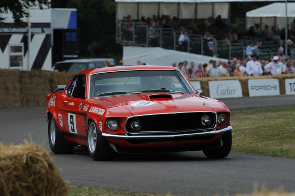 Goodwood, England3rd/4th/5th July 2009. David Bowden Ford Boss 302 MustangWorld Copyright: Jeff Bloxham/LAT PhotographicRef: Digital Image Only