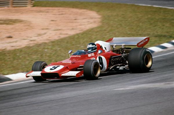 1973 Brazilian Grand Prix.  Interlagos, Sao Paulo, Brazil. 9-11th February 1973.  Jacky Ickx, Ferrari 312B2, 5th position.  Ref: 73BRA01. World Copyright: LAT Photographic