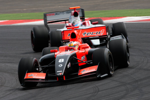 MOSCOW (RUS) JUL 13-15 2012 - Fourth round of the World series by Renault 2012 at the Moscow Raceway. Jules Bianchi #8 Tech1 Racing. Action. © 2012 Diederik van der Laan / Dutch Photo Agency / LAT Photographic