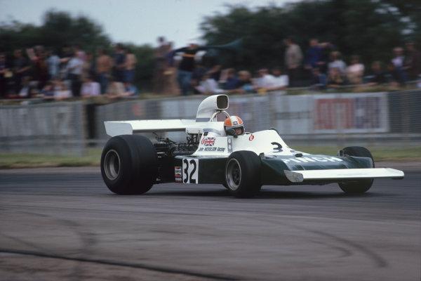 Silverstone, England. 17-19 July 1975. John Nicholson, Lyncar 006 Ford. Ref: 75GB25. World Copyright - LAT Photographic