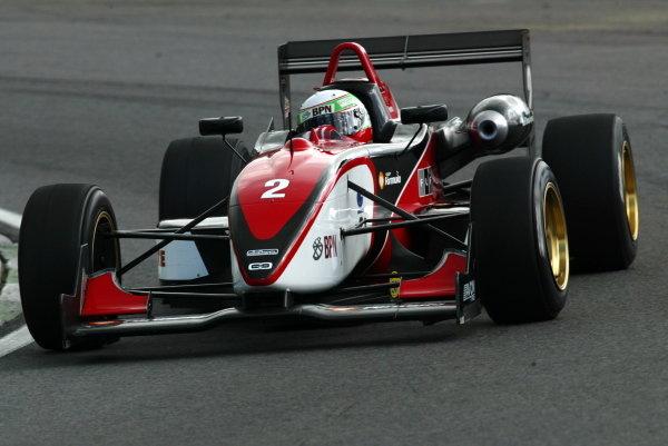 Alvaro Parente (POR) Carlin Motorsport.British Formula Three Championship, Press day.Brands Hatch, Kent, England. 24th March 2004Digital Image