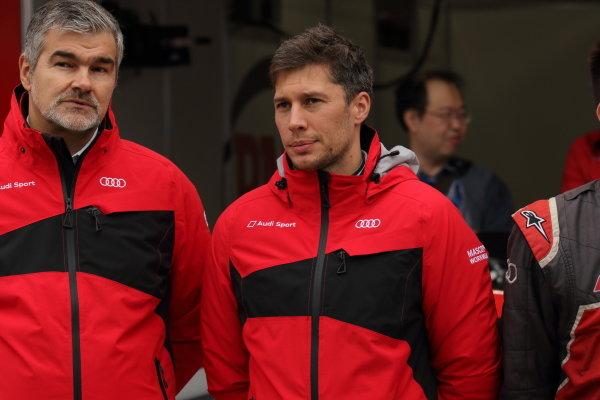 Super GT - DTM Dream Race. Loïc Duval, Audi Sport Team  Phoenix, Audi RS5 Turbo DTM, ahead of race one