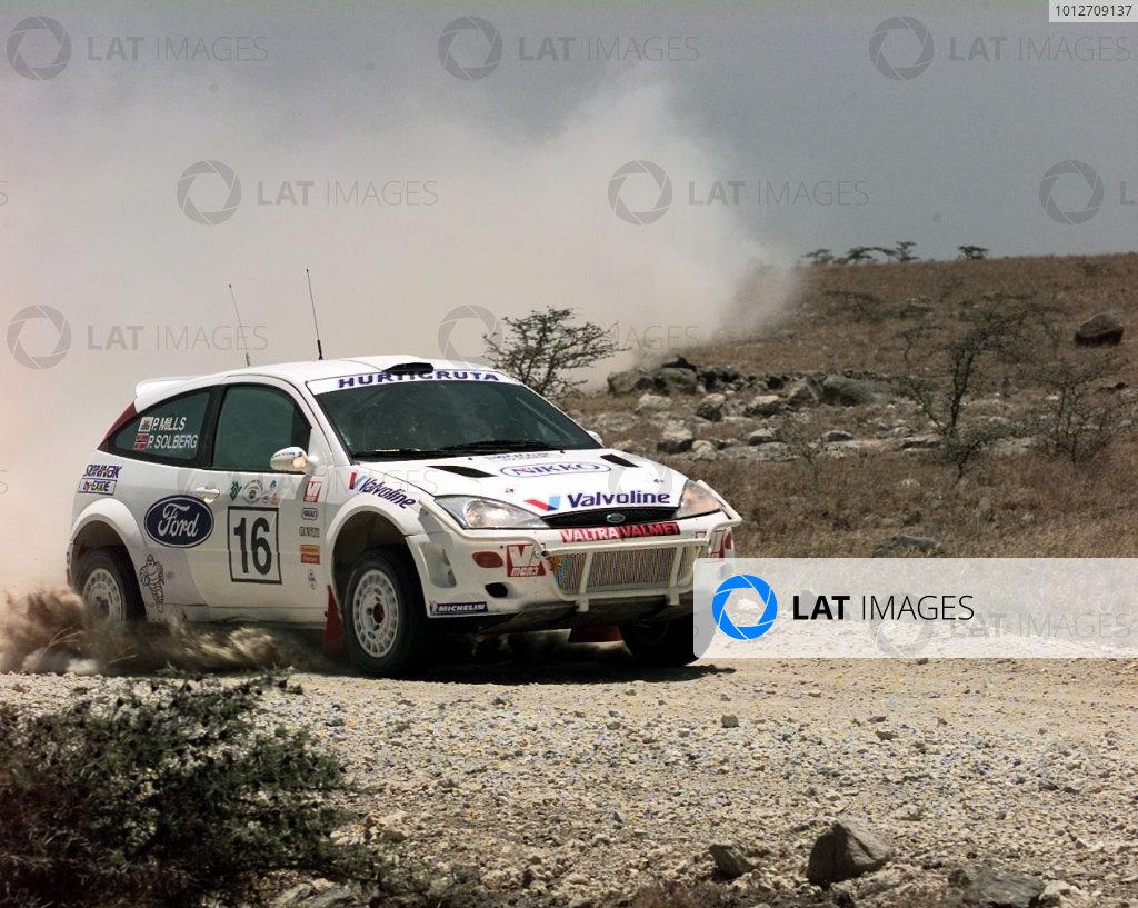 Safari 2000 - Petter Solberg Ford Focus - action