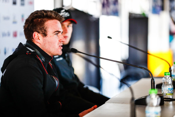 Oliver Rowland (GBR), Nissan e.Dams, in the press conference
