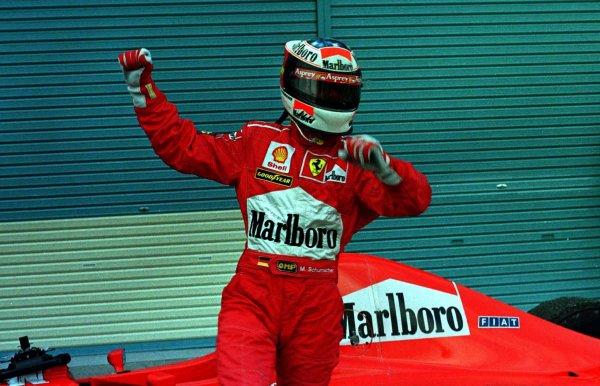 1997 Japanese Grand Prix.Suzuka, Japan.10-12 October 1997.Michael Schumacher (Ferrari F310B) 1st position.World Copyright - LAT Photographic