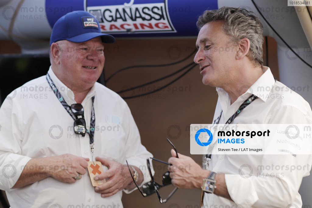 Chip Ganassi, Owner and CEO, Chip Ganassi Racing Teams and Alejandro Agag, CEO, Extreme E