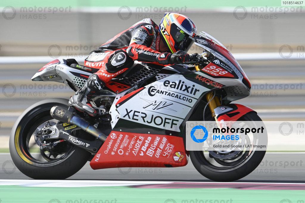 Simone Corsi, Forward Racing.