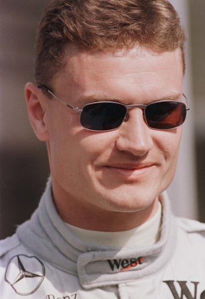 1998 San Marino Grand Prix.Imola, Italy.24-26 April 1998.David Coulthard (McLaren Mercedes-Benz).World Copyright - Leicester/LAT Photographic