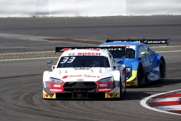 René Rast, Audi Sport Team Rosberg, Audi RS 5 DTM, Robin Frijns, Audi Sport Team Abt Sportsline, Audi RS5 DTM.