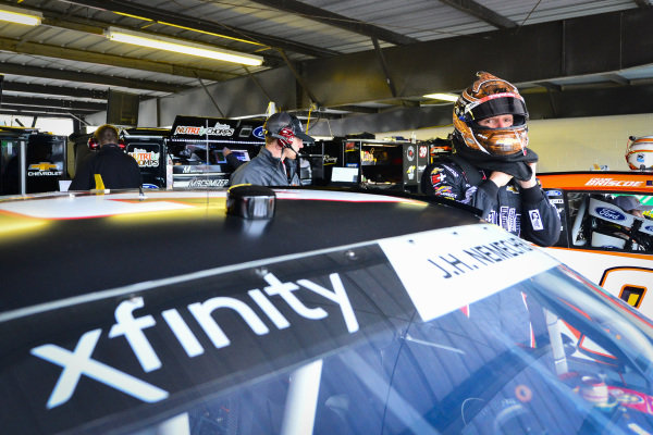 #23: John Hunter Nemechek, GMS Racing, Chevrolet Camaro Fire Alarm Services, INC