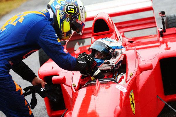 Robbier Kerr (GBR) Ferrari