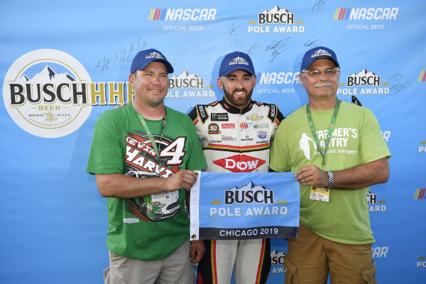 #3: Austin Dillon wins the pole for the Camping World 400  Richard Childress Racing, Chevrolet Camaro Dow Univar Solutions