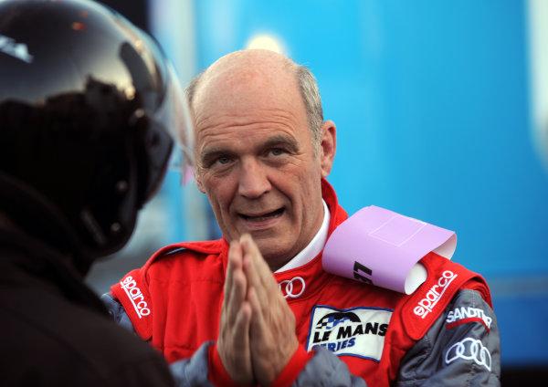 Circuit de La Sarthe, Le Mans, France. 6th - 13th June 2010.Wolfgang Ulrich prays for victory. Portrait. World Copyright: Jeff Bloxham/LAT PhotographicDigital Image DSC_7165 JPG