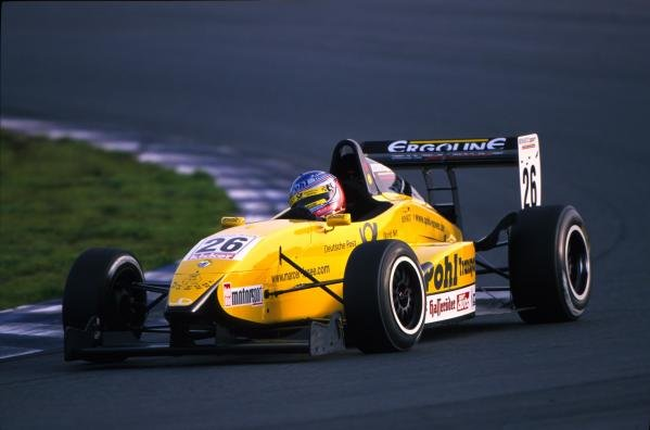 Marcel Lasee (GER) lead from start to finish and took the 2001 Championship title.German Formula Renault Championship, 14 October 2001,Oschersleben, Germany.BEST IMAGE