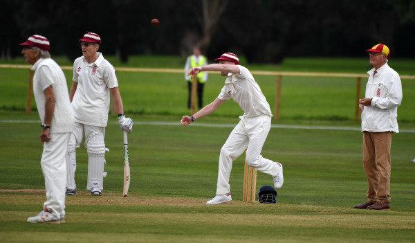 Goodwood Revival Cricket Match Gordon Shedden