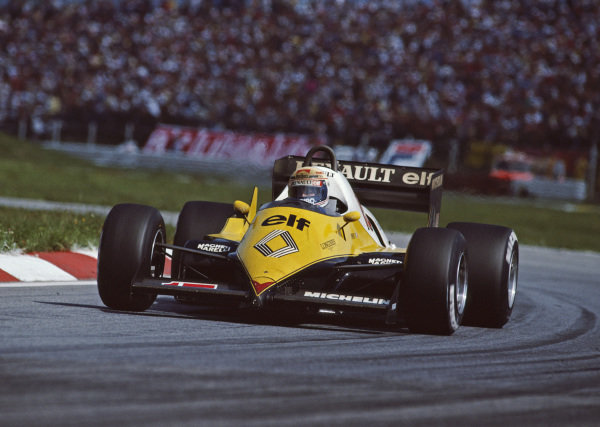 Alain Prost, Renault RE40.