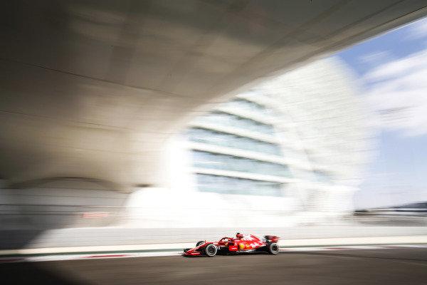 Charles Leclerc, Ferrari SF71H.