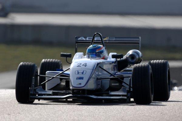 2007 British Formula Three Championship.Rockingham, England 29th and 30th September 2007.John Martin (AUS) Alan Docking Racing Dallara Mugen HondaWorld Copyright: Jakob Ebrey/LAT