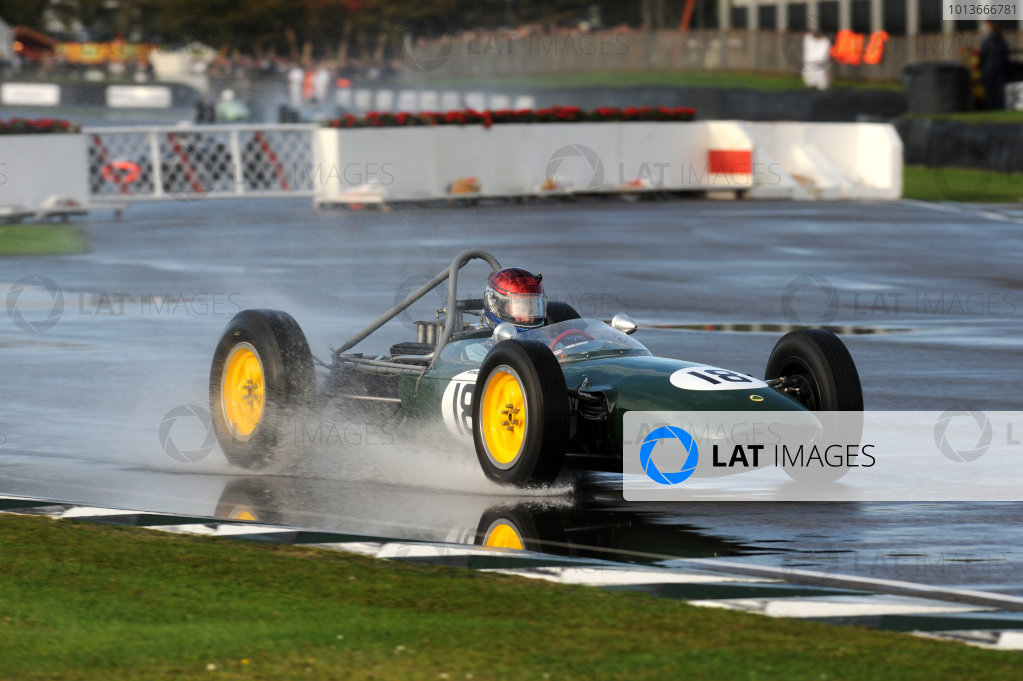 Goodwood Estate, West Sussex, 15th - 18th September 2011 Glover Trophy Paul DRAYSON, Lotus-BRM 24. World Copyright:Jeff Bloxham/LAT Photographic Ref: Digital Image